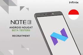 Infinix Note 3 and note 3 Pro beta upgrade prexblog.com