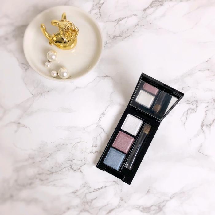 Suqqu Aoruri Eye Color Palette Aoruri swatch review