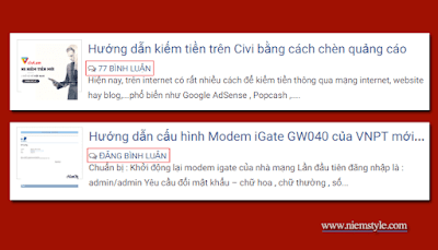 code hien thi so binh luan va dang binh luan post outer cho blogspot