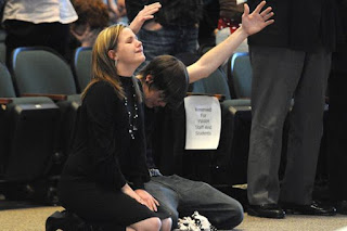 weeping at altar call