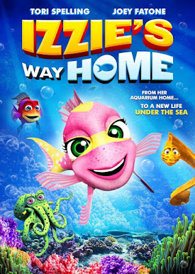 Izzie's Way Home 2016 DVD R1 NTSC Latino