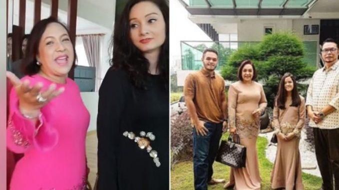 Kaya BetuI, Rumah Sampai 7 Tingkat. Sasha Saidin Teruja Buat Tour Kat Banglo Maria Tunku Sabri