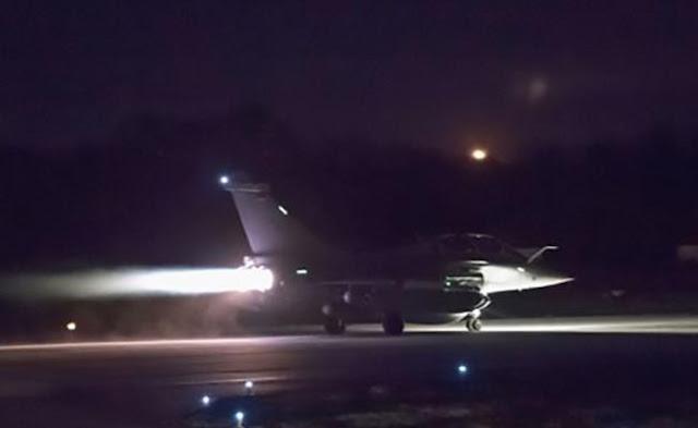 EEUU lanza ataques en Siria, coordinados con Francia y Reino Unido