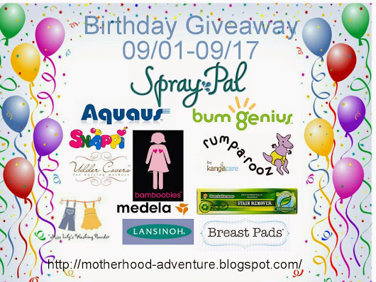 Birthday giveaway Day 6: Breastfeeding