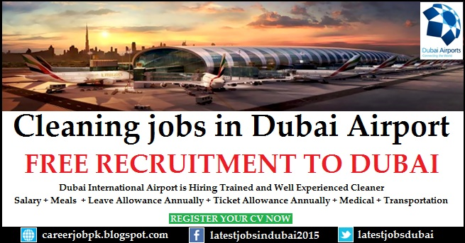 Cleaning jobs in Dubai