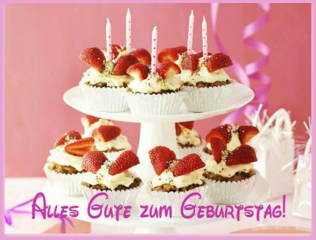 Cupcakes Alles Gute Zum Geburtstag