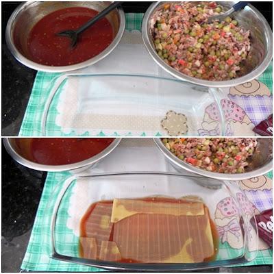 receita de como fazer lasanha