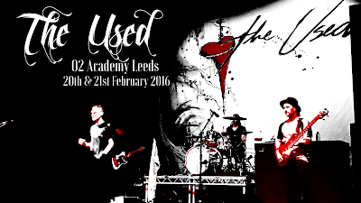 The Used, Leeds, UK tour