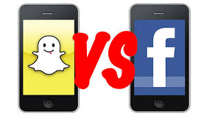 Confronto Facebook vs Snapchat