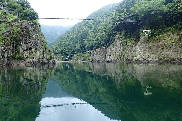 瀞峡の吊橋