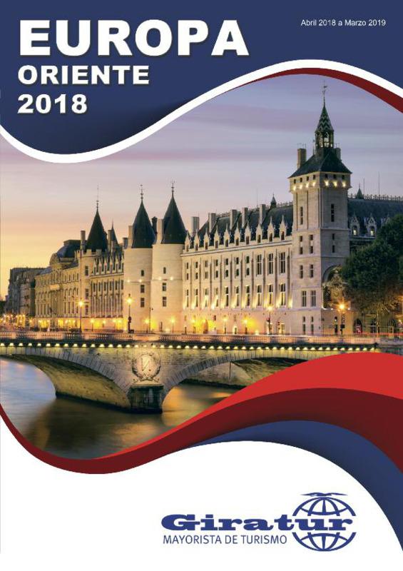 Catálogo Giratur Circuitos Europa 2018-19