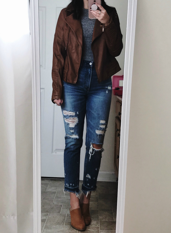 how to wear a bodysuit, mom style, north carolina blogger, fall fashion, styling a bodysuit, style blogger, style on a budget