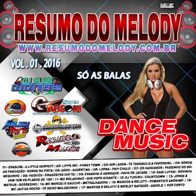 CD DANCE MUSIC VOL.01.2016