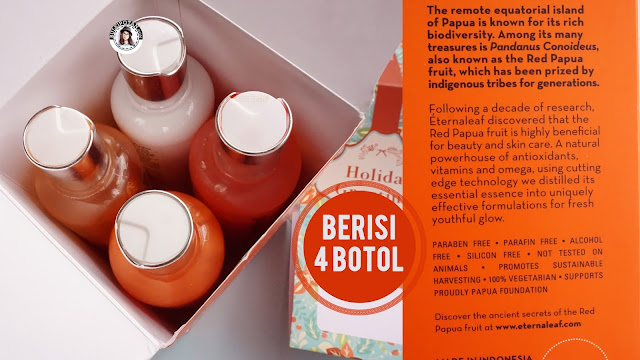 Eternaleaf+Skincare+dengan+essence+buah+merah+khas+Papua.