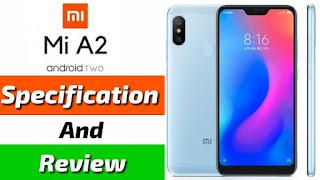 Xiaomi Mi A2 Specification