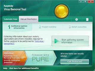 Kaspersky Virus Removal, un outil gratuit de suppression des virus