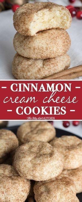Cinnamon Cream Cheese Cookies