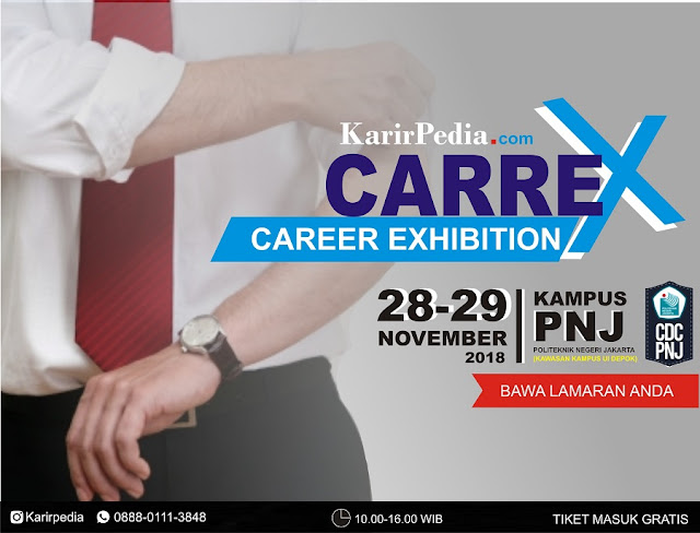 Career Exhibition Politeknik Negeri Jakarta 2018