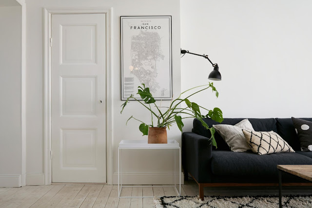 Simple apartment in Stockholm