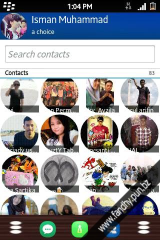 BBM MOD RaMoonChin for Android Gingerbread and Up FREE