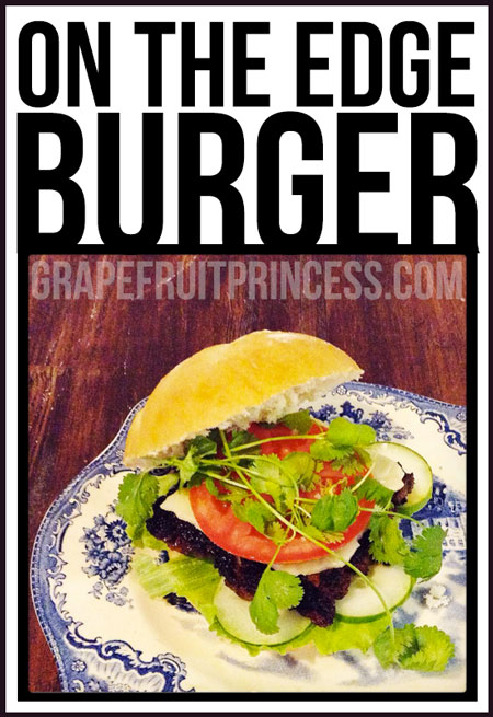 Burger, Recipe, On the edge Burger, 15% off coupon, Amazon, Burger Press, Cave Tools, Bubba Burgers, DImpler, Coupon Code