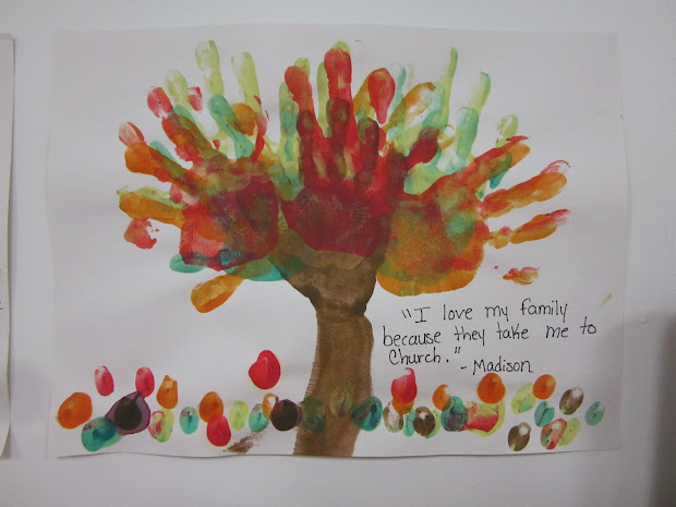 Preschool Family Theme Crafts