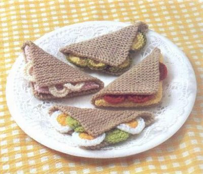Amazing Magazine Brilliant Knitted Food Patterns