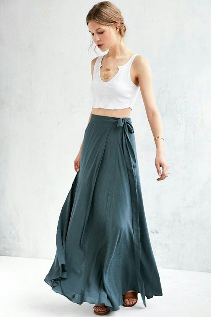 Warp Maxi skirt