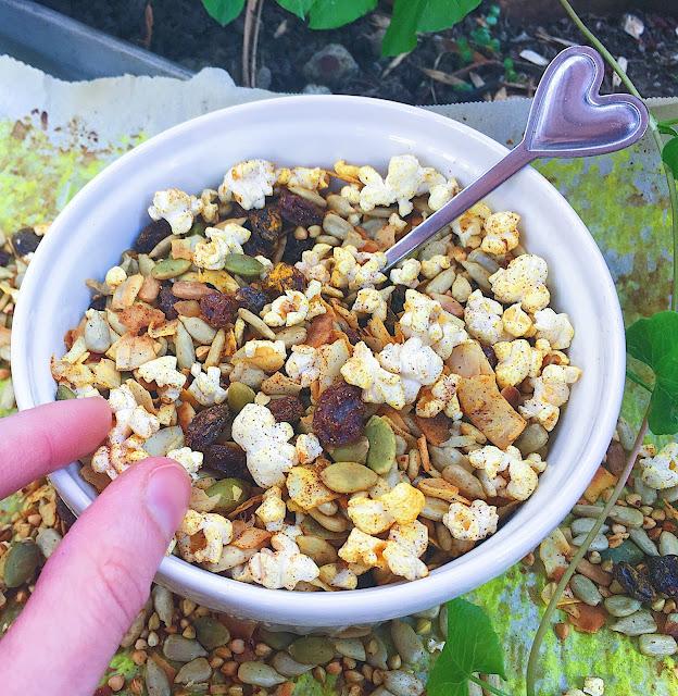 Secretly Healthy Sweet N' Salty Trail Mix (Gluten Free, Vegan)