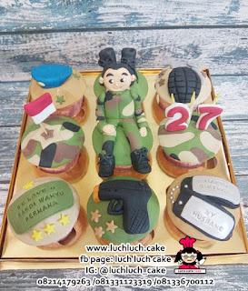 Cupcake Tentara TNI Angkatan Darat