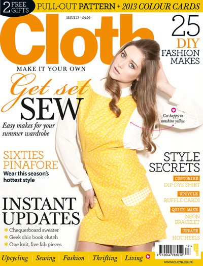 Style-diaries: Thank You Cloth Magazine