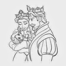 disney tangled coloring pages printable 1 - Tangled Coloring Pages Printable