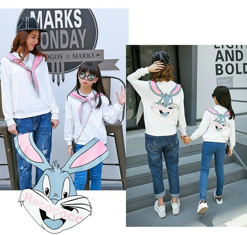 Jual Online MK Sweater Bunny Murah Jakarta Bahan Babytery Terbaru.