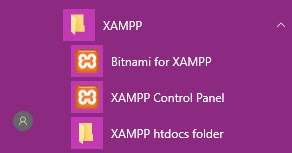 XAMPP Windows 10