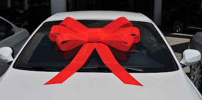 Image result for car with bow