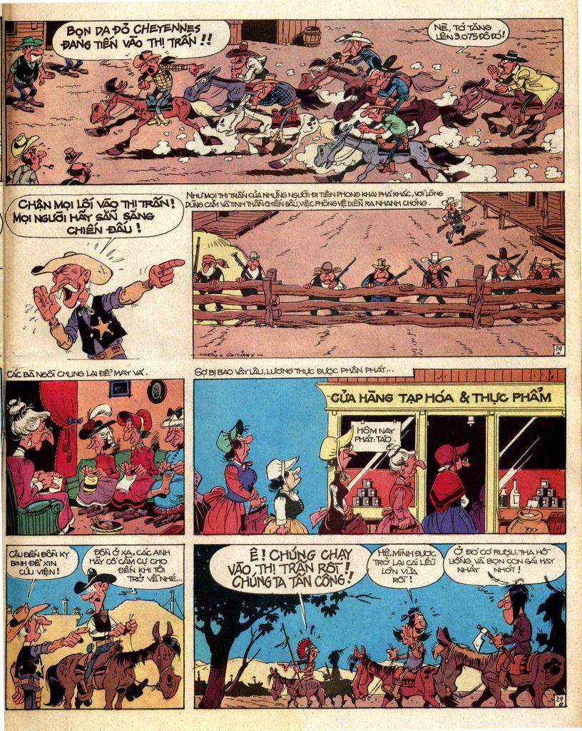 Lucky Luke tap 2 - ke san tien thuong trang 29