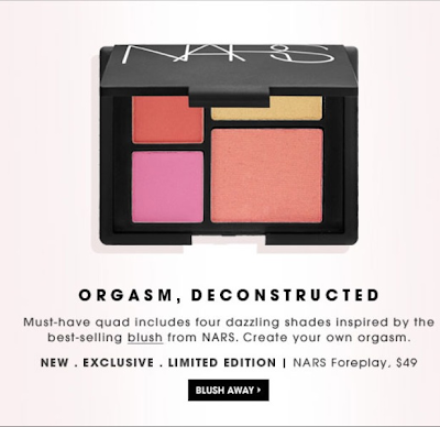 NARS Limited Edition Blush Palette At Sephora