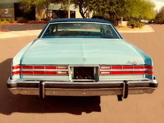 1975 Pontiac Grand Ville Rear