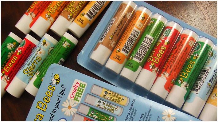 Скидка 50% на бальзамы для губ Sierra Bees