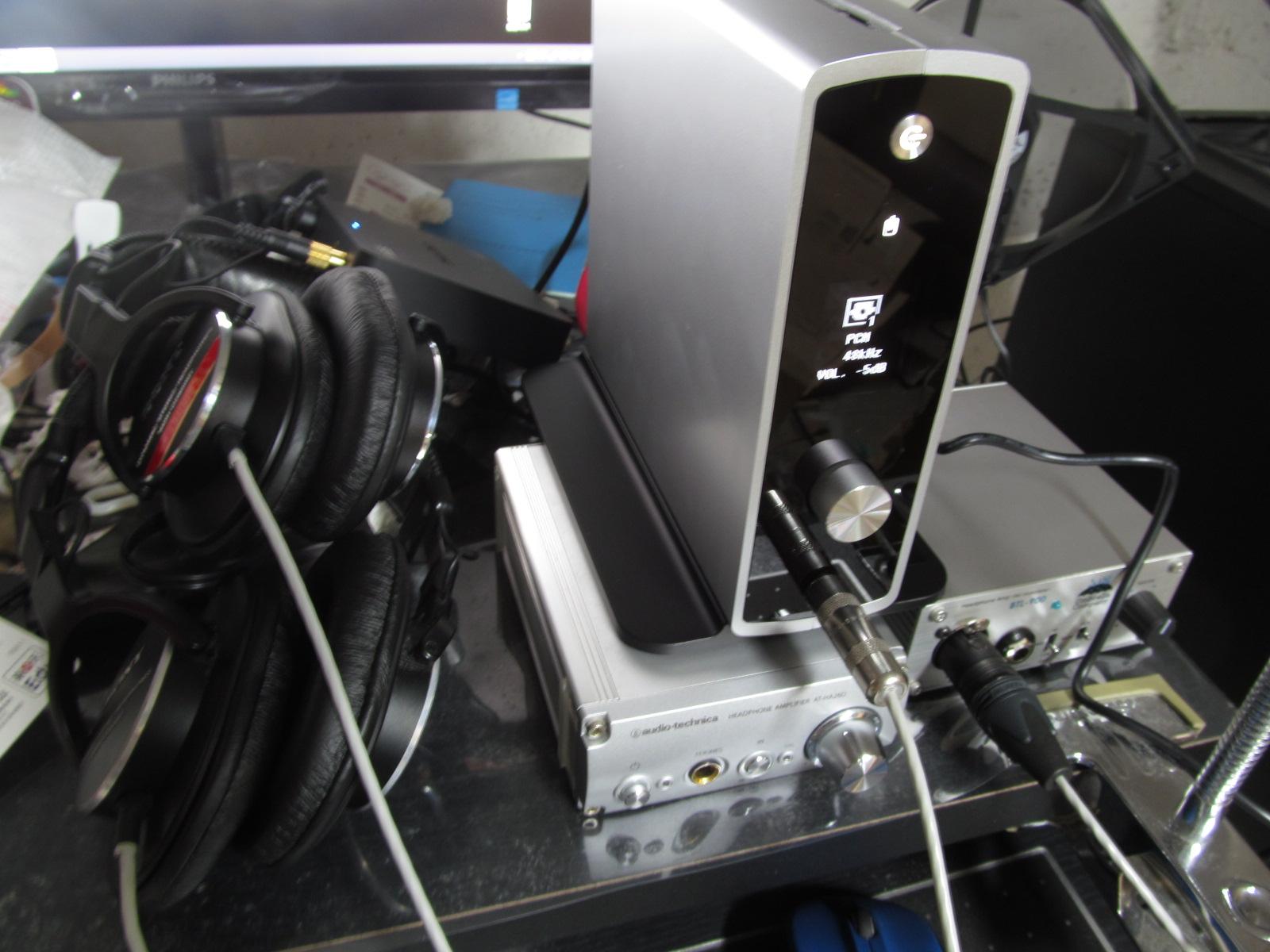 めんどくされた 創作 生活 活動日記 : BTL-900 BTL 900 DA-300USB DA 300USB AT-HA26D AT HA26D PC 高音質化 比較 レビュー 評価