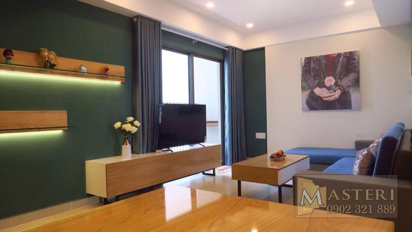 Masteri Thảo Điền căn hộ cho thuê - Tivi phòng khách