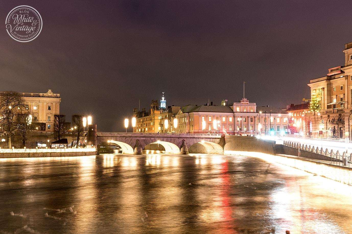 Weihnachten in Stockholm verbringen.