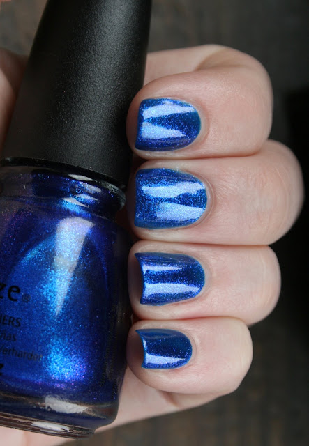 China Glaze - Blue Year's Eve swatch