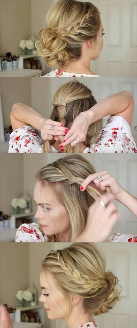 Braid maid hairstyle