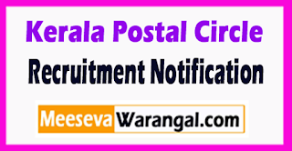 Kerala Postal Circle Recruitment Notification 2017