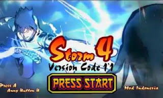 Naruto Senki Mod Ultimate Ninja Storm 4 Version Code 1.1 Apk
