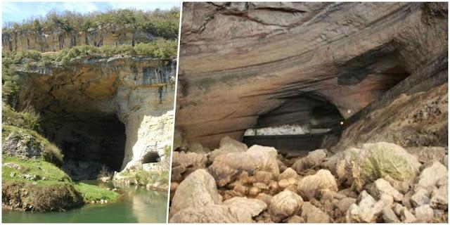gruta mas de azil en ariege