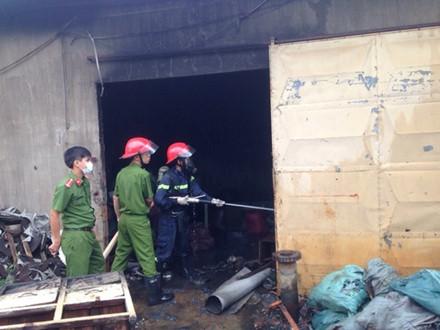 Gia Lai: Cháy xưởng Cty nhựa, thiệt hại 350 triệu đồng