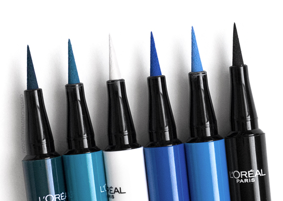 L'Oréal Paris Infallible Paints Liquid Eyeliners Review Photos