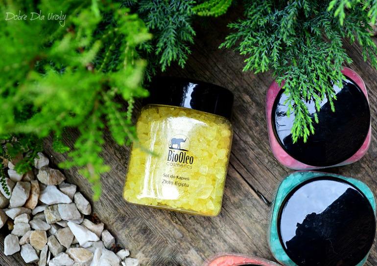 Sole do kąpieli BioOleo Cosmetics - sól Złoty Egipt